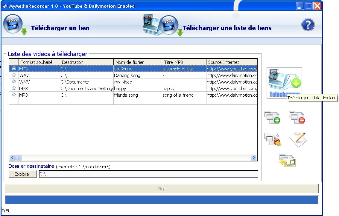 telecharger lien
